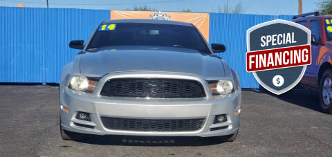 2014 Ford Mustang for sale at Juniors Auto Sales in Tucson AZ