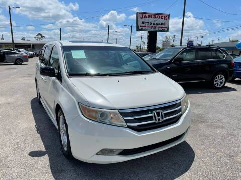 2012 Honda Odyssey for sale at Jamrock Auto Sales of Panama City in Panama City FL
