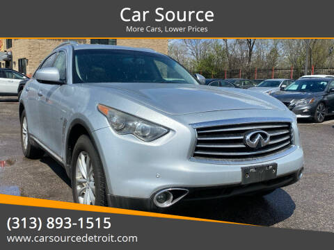 2015 Infiniti QX70 for sale at Car Source in Detroit MI