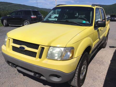2003 Ford Explorer Sport Trac for sale at Troys Auto Sales in Dornsife PA
