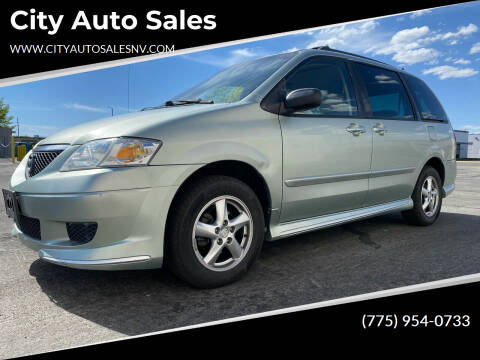 2003 Mazda MPV for sale at City Auto Sales in Sparks NV