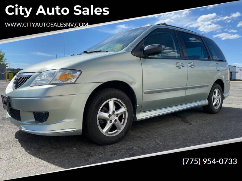 2003 Mazda MPV for sale at City Auto Sales in Sparks NV