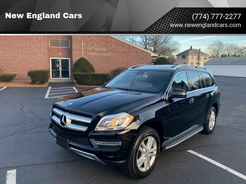 2014 Mercedes-Benz GL-Class for sale at New England Cars in Attleboro MA