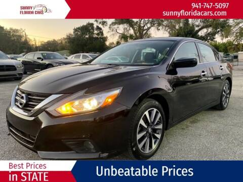 2017 Nissan Altima for sale at Sunny Florida Cars in Bradenton FL