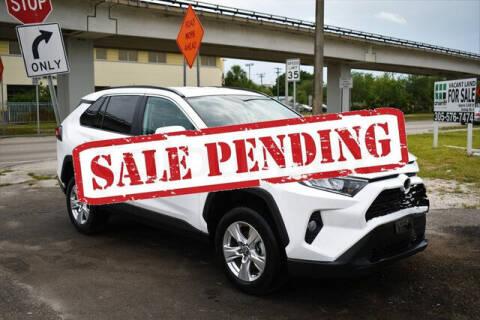 2021 Toyota RAV4 for sale at ELITE MOTOR CARS OF MIAMI in Miami FL