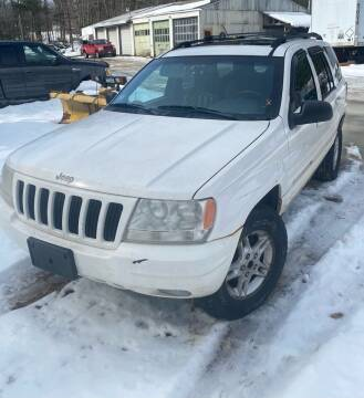 1999 Jeep Cherokee for sale at Classic Heaven Used Cars & Service in Brimfield MA