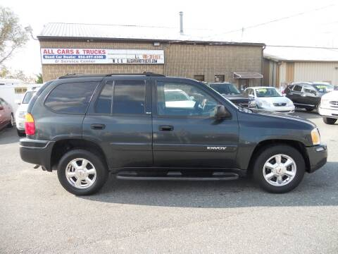 2003 GMC Envoy for sale at All Cars and Trucks in Buena NJ