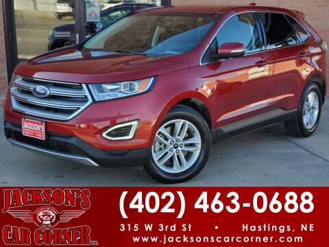 2017 Ford Edge for sale at Jacksons Car Corner Inc in Hastings NE