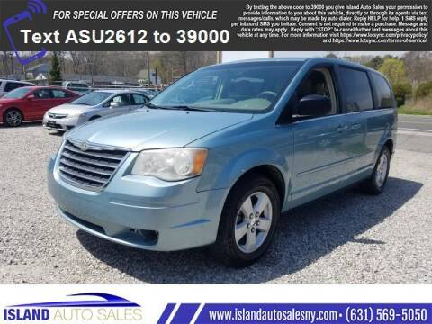 2010 Chrysler Town and Country for sale at Island Auto Sales in E.Patchogue NY