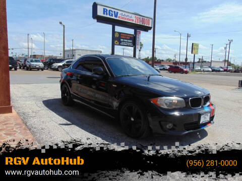 2013 BMW 1 Series for sale at RGV AutoHub in Harlingen TX