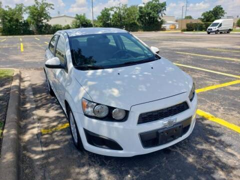 2015 Chevrolet Sonic for sale at DFW AUTO FINANCING LLC in Dallas TX