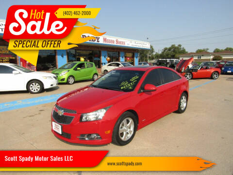 2012 Chevrolet Cruze for sale at Scott Spady Motor Sales LLC in Hastings NE