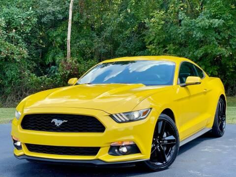 2015 Ford Mustang for sale at Sebar Inc. in Greensboro NC