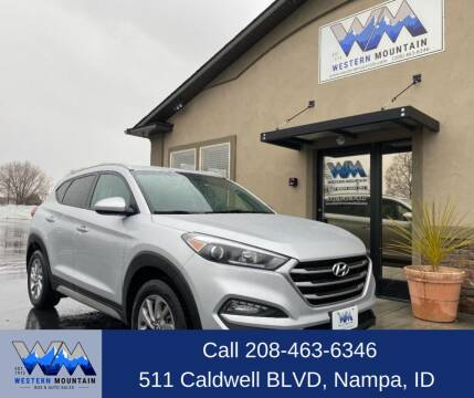 2018 Hyundai Tucson for sale at Western Mountain Bus & Auto Sales in Nampa ID