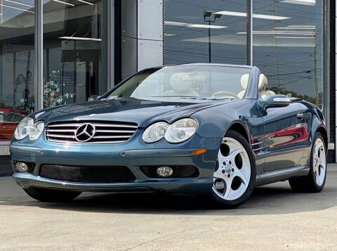 2004 Mercedes-Benz SL-Class for sale at Carmel Motors in Indianapolis IN