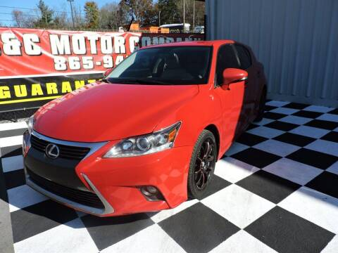 2014 Lexus CT 200h for sale at C & C Motor Co. in Knoxville TN