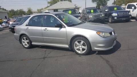 2006 Subaru Impreza for sale at BRAMBILA MOTORS in Pocatello ID