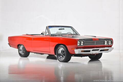 1969 Plymouth Roadrunner for sale at Motorcar Classics in Farmingdale NY
