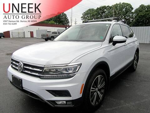 2018 Volkswagen Tiguan for sale at Uneek Auto Group LLC in Burton MI