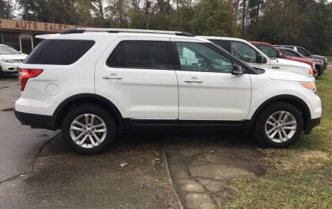 2013 Ford Explorer for sale at Bobby Lafleur Auto Sales in Lake Charles LA