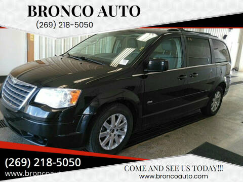 2008 Chrysler Town and Country for sale at Bronco Auto in Kalamazoo MI