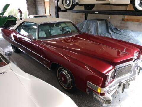 1974 Cadillac Eldorado for sale at Classic Car Deals in Cadillac MI
