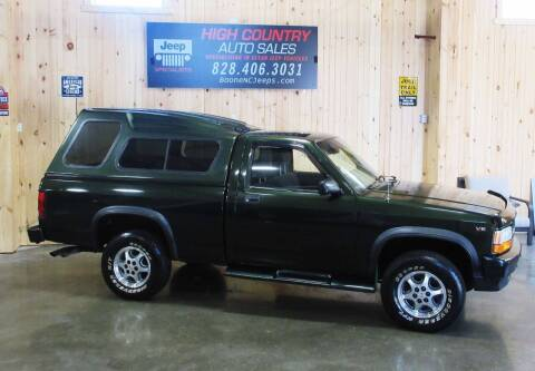 1996 Dodge Dakota for sale at Boone NC Jeeps-High Country Auto Sales in Boone NC