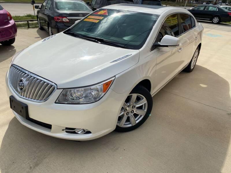 2012 Buick LaCrosse for sale at Raj Motors Sales in Greenville TX
