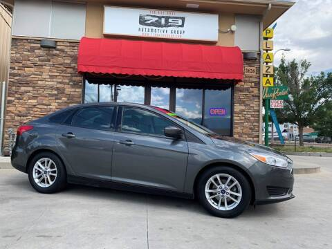 2018 Ford Focus for sale at 719 Automotive Group in Colorado Springs CO