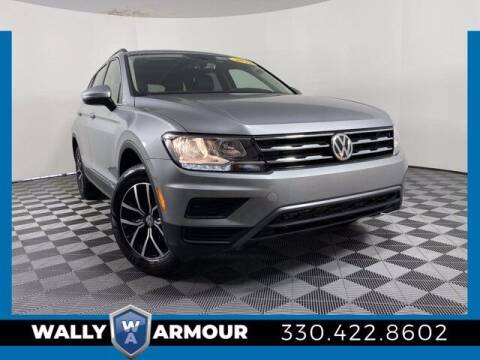 2021 Volkswagen Tiguan for sale at Wally Armour Chrysler Dodge Jeep Ram in Alliance OH