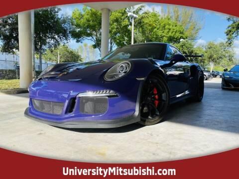 2016 Porsche 911 for sale at FLORIDA DIESEL CENTER in Davie FL