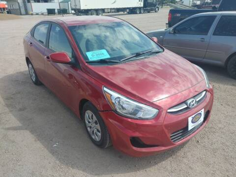 2017 Hyundai Accent for sale at BERG AUTO MALL & TRUCKING INC in Beresford SD