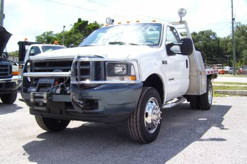 2002 Ford F-550 Super Duty for sale at buzzell Truck & Equipment in Orlando FL