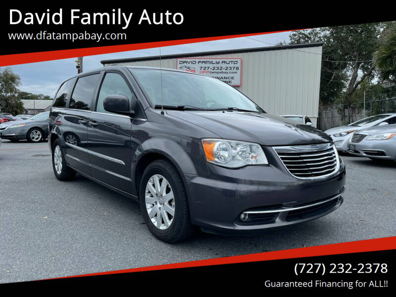 2015 Chrysler Town and Country for sale at David Family Auto in New Port Richey FL