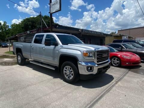 2015 GMC Sierra 3500HD for sale at Texas Luxury Auto in Houston TX