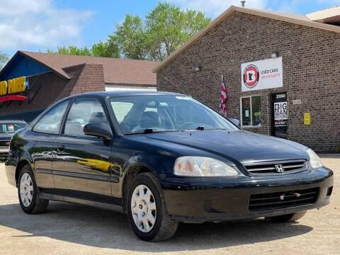 2000 Honda Civic for sale at Big Man Motors in Farmington MN