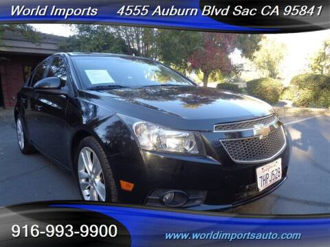 2014 Chevrolet Cruze for sale at World Imports in Sacramento CA