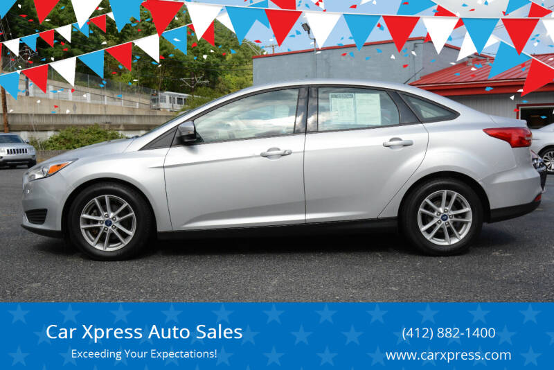 2017 Ford Focus for sale at Car Xpress Auto Sales in Pittsburgh PA