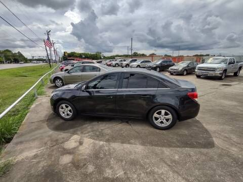 2011 Chevrolet Cruze for sale at BIG 7 USED CARS INC in League City TX