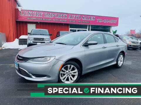 2015 Chrysler 200 for sale at LUXURY IMPORTS AUTO SALES INC in North Branch MN