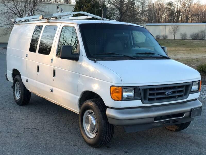 2006 Ford E-Series Cargo for sale at ECONO AUTO INC in Spotsylvania VA