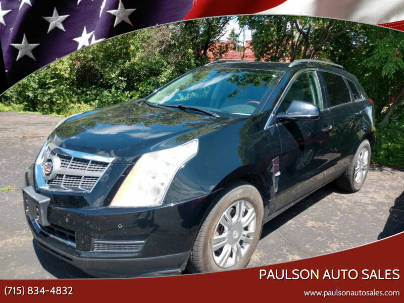 2010 Cadillac SRX for sale at Paulson Auto Sales in Chippewa Falls WI