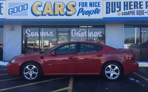2008 Pontiac Grand Prix for sale at Good Cars 4 Nice People in Omaha NE