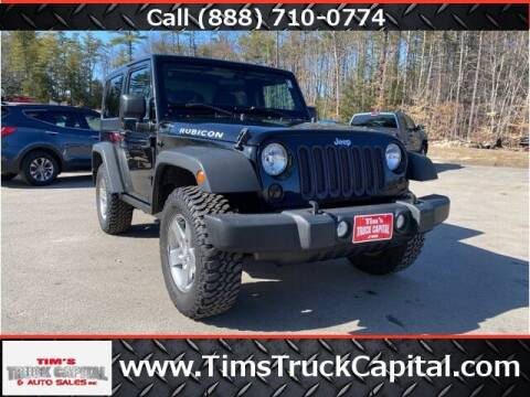 2012 Jeep Wrangler for sale at TTC AUTO OUTLET/TIM'S TRUCK CAPITAL & AUTO SALES INC ANNEX in Epsom NH