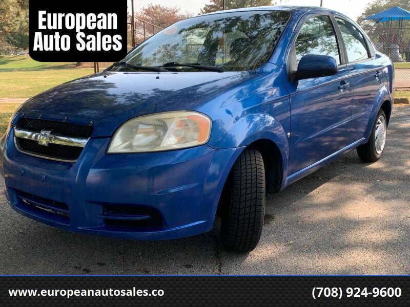 2009 Chevrolet Aveo for sale at European Auto Sales in Bridgeview IL