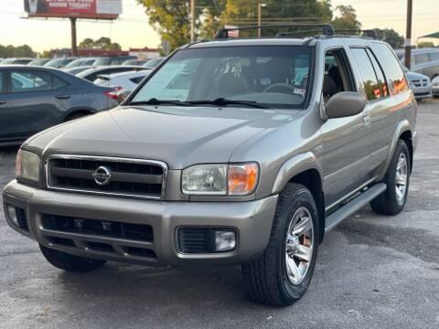 2004 Nissan Pathfinder for sale at Atlantic Auto Sales in Garner NC