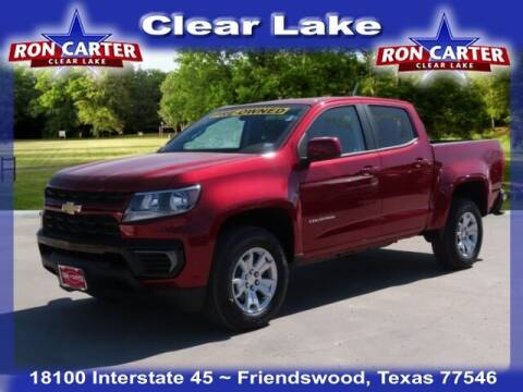2021 Chevrolet Colorado for sale at Ron Carter  Clear Lake Used Cars in Houston TX