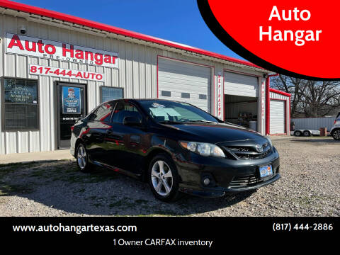2013 Toyota Corolla for sale at Auto Hangar in Azle TX