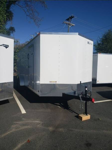 2021 7x18 Standard Enclosed Trailer for sale at Big Daddy's Trailer Sales in Winston Salem NC