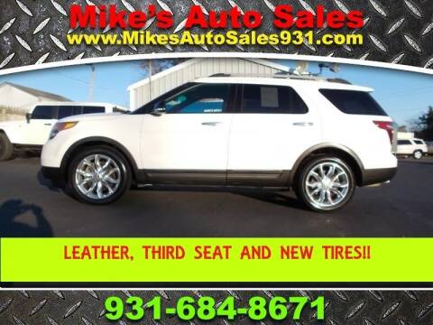 2014 Ford Explorer for sale at Mike's Auto Sales in Shelbyville TN